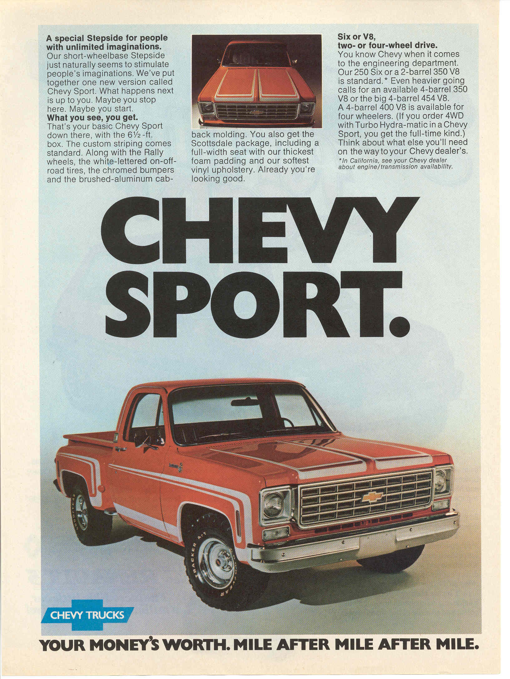 That is a Chevy Sport.